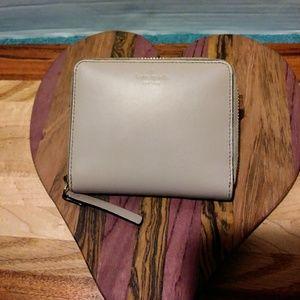 Kate Spade NY Small Leather Zipper Folded Wallet